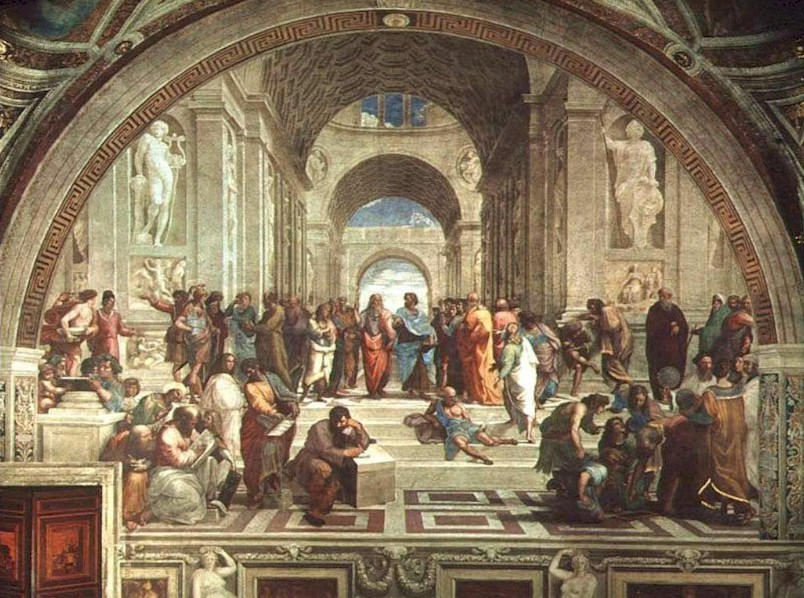Raphael - The ancient Greek philosophers