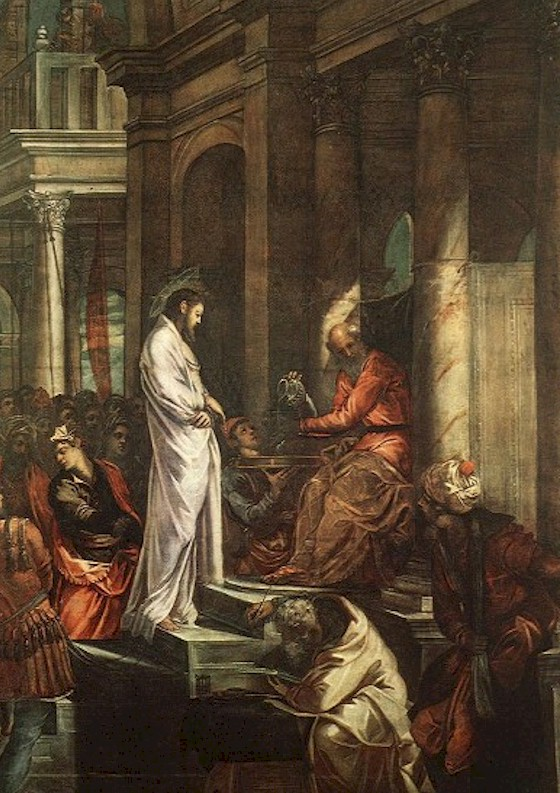 Il Tintoretto - Pilate washes his hands