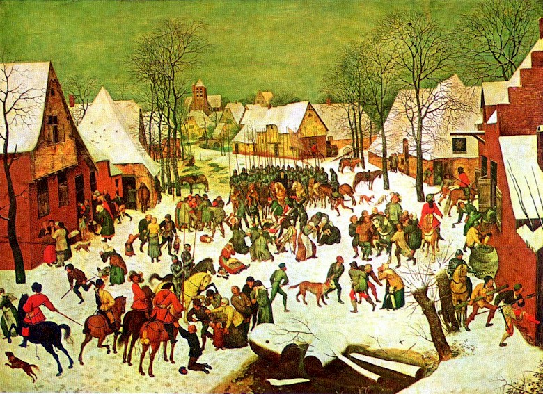 The Massacre of the Innocents by Pieter Brueghel