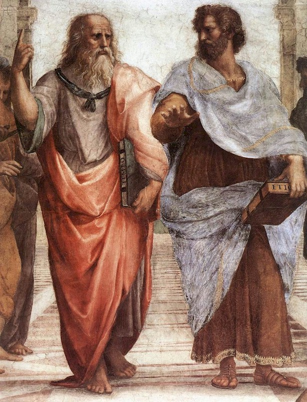 Raphael - Plato and Aristotle