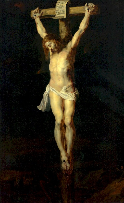 Pieter Paul Rubens - Christ on the cross according