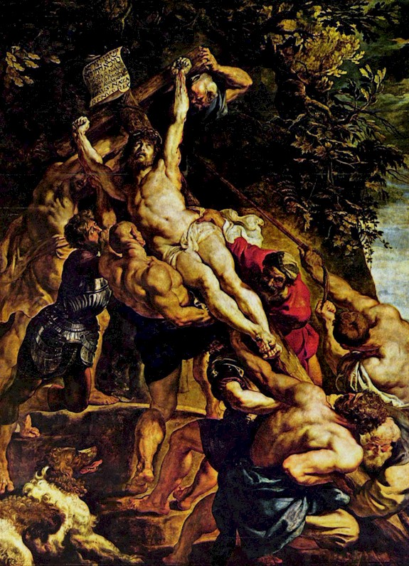 Pieter Paul Rubens - The crucifixion of  Christ