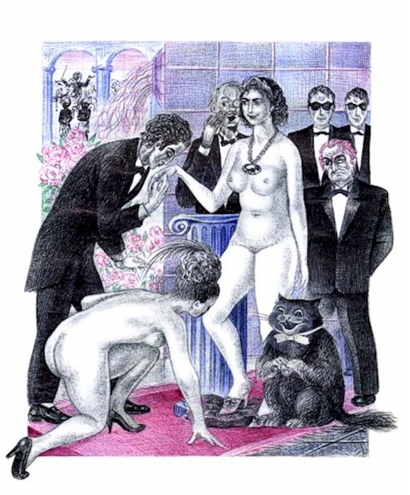 Русский эротический фильм бал у сатаны