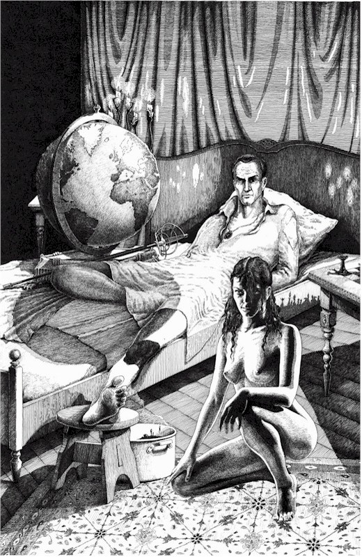 woland master and margarita Illustration for the master and margarita, 1989, by gennady kalinovsky  at the  end of the novel, bulgakov makes woland release pilate into a.
