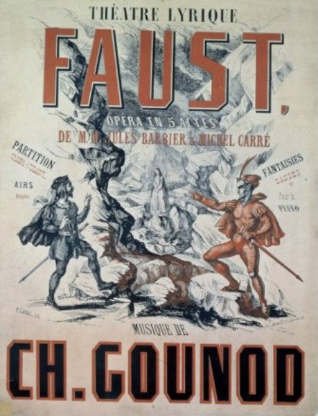 Affiche van Charles Gounod's Faust