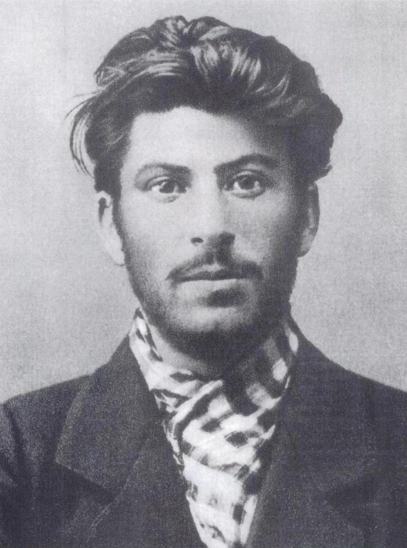 The young Stalin in 1902