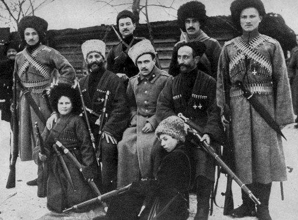 Cossacks in the White Army