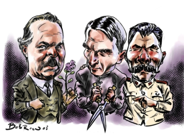 Nikolay Vavilov, Trofim Lysenko and Stalin