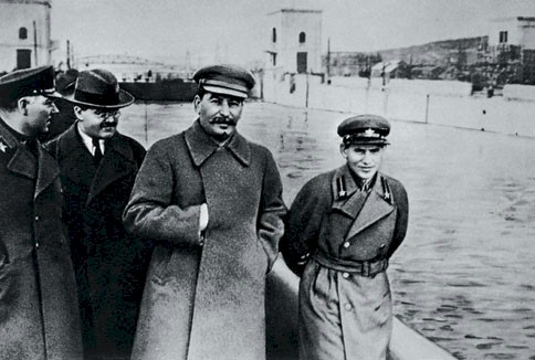 Voroshilov, Molotov, Stalin and Yezhov