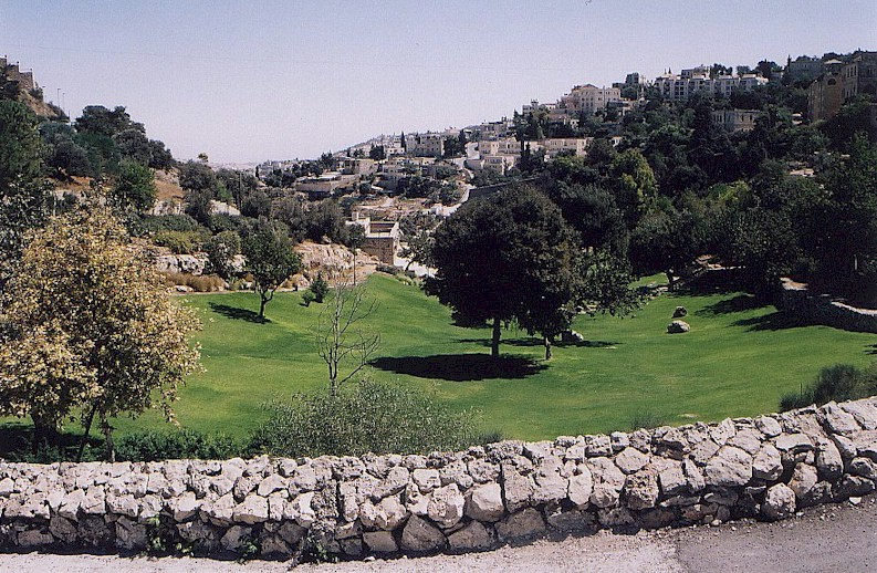 The Hinnom valley