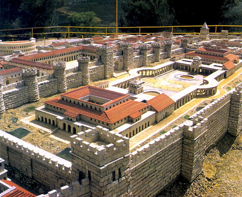 The palace of Herod the Great