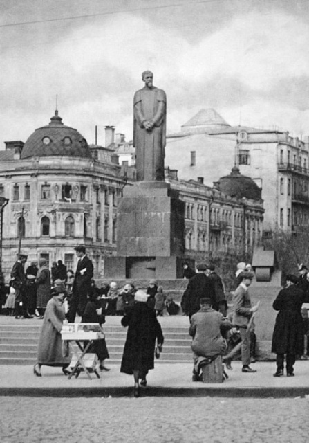 The statue of Timiriazev