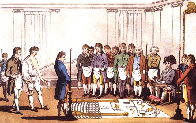 Initiation ritual in Freemasonry