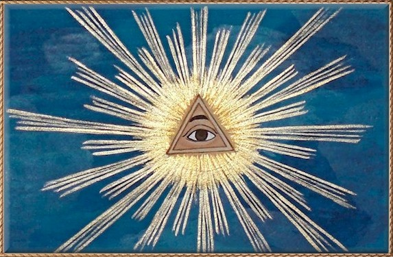 Triangle with the Eye of Providence